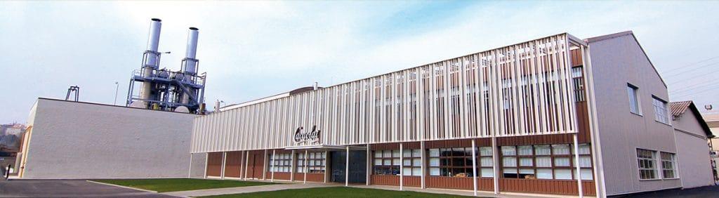 Fábrica actual de Letona y Cacaolat en Santa Coloma de Gramenet