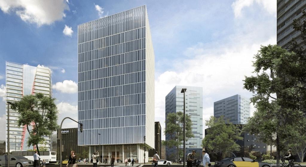 Imagen virtual del nuevo Hotel Hampton by Hilton Barcelona Fira