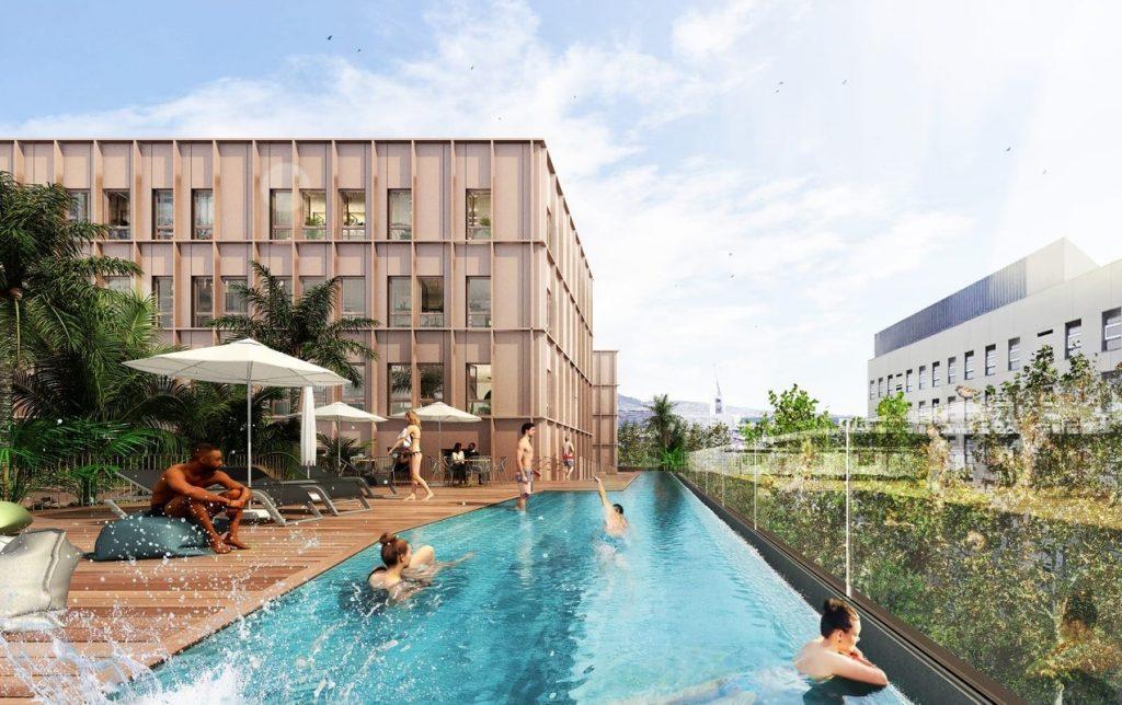 futura residencia Aparto Diagonal Mar