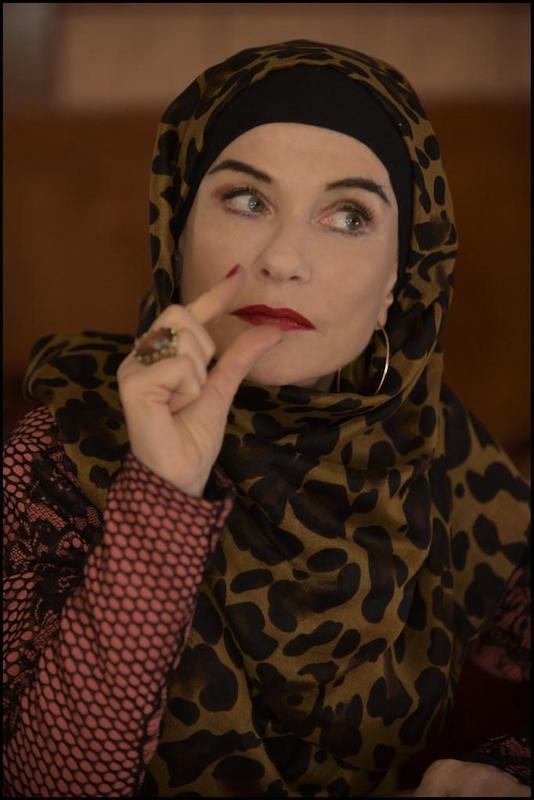 Actriz francesa Isabelle Hupert