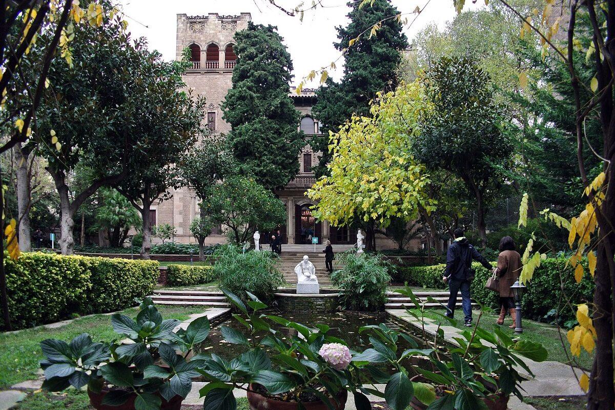 Jardines de la Fundación Julio Muñoz Ramonet