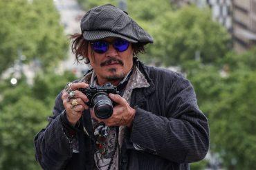Johnny Depp en Barcelona