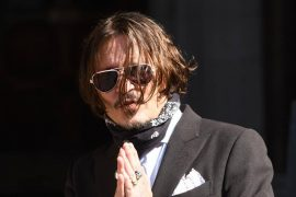 Actor Johny Depp