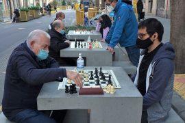 Jugadores de ajedrez en Barcelona