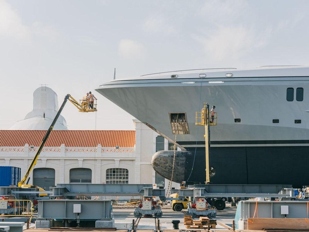 Mantenimientos buques MB92