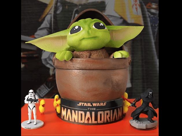 Mona Pascua Bebé Yoda de Escribà