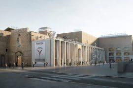 Imagen virtual del nuevo edificio del museo MACBA.