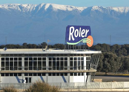 Fábrica de Roler en Extremadura.