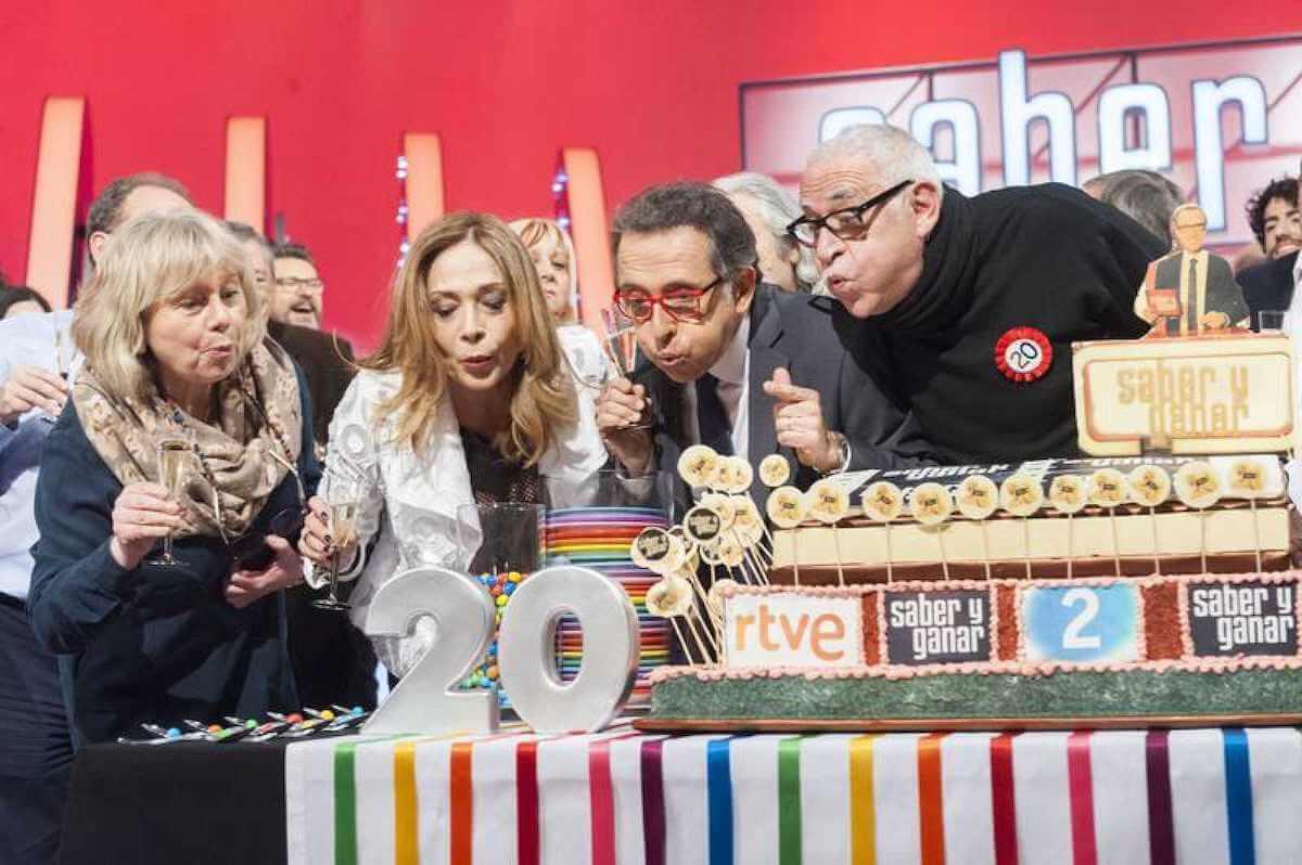 Celebración del 20 aniversario del concurso Saber y Ganar