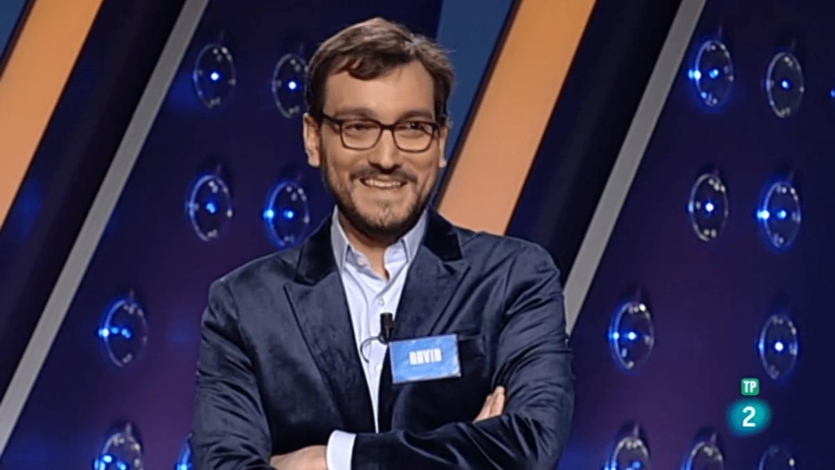 David Díaz, el día que llegó al programa número 100 de Saber y Ganar
