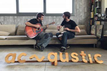Esteve Lombarte y Ferran Sáez, fundadores de Acqustic
