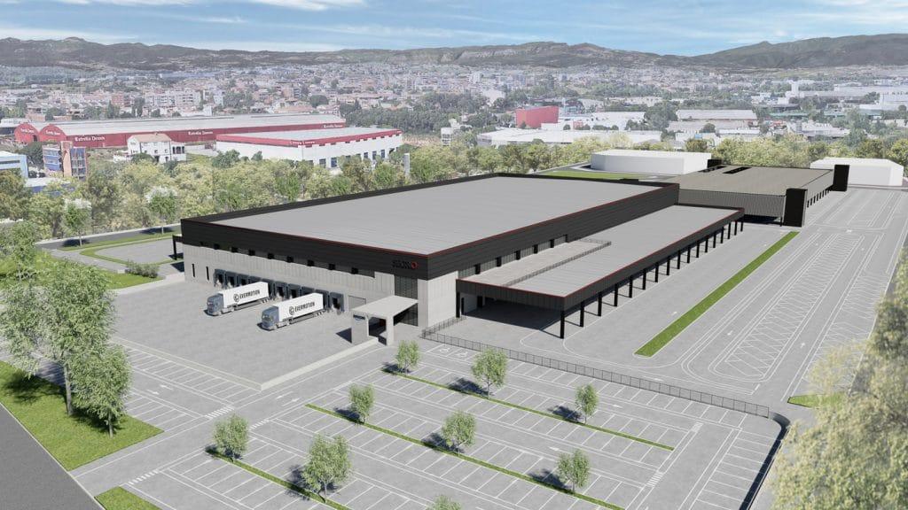 futuro centro de Amazon en Mollet del Vallès.