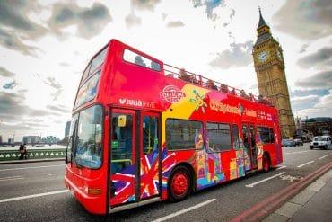 Autobús turístico en Londres