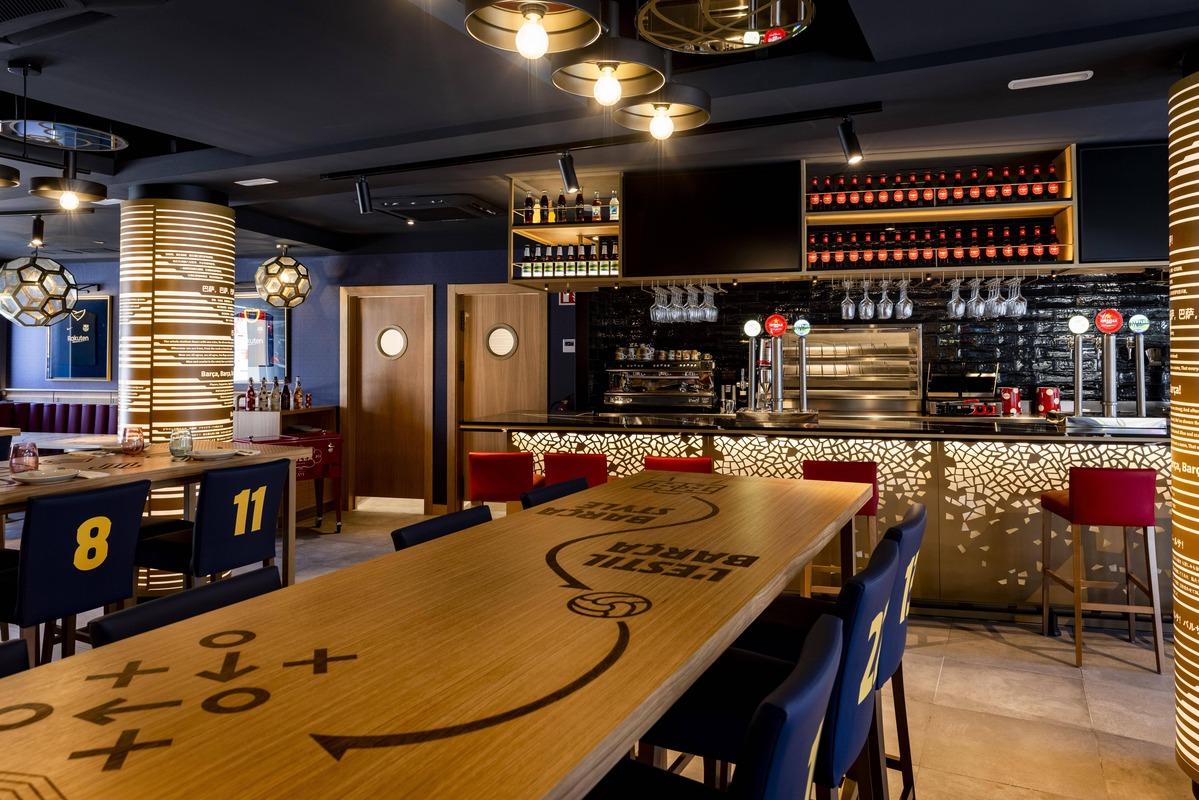Interior de Barça Café
