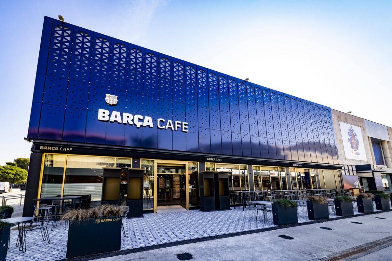 Barça Café en el Camp Nou