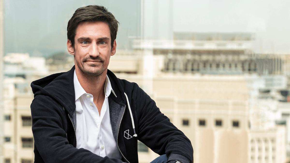 El fundador y CEO de Checkout.com, Guillaume Pousaz.