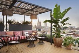 terraza del Hotel Kimpton Vividora