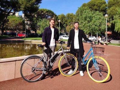 Falk Siegel y Diego Casabe, fundadores de Kleta Mobility.