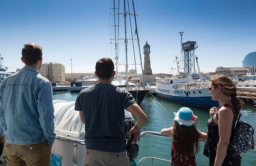 Vistes Port de Barcelona