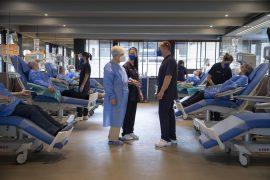 Sala de tractament del nou Ambar Center de Barcelona.