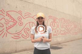 mural de keith haring barcelona street art