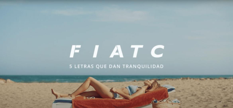 Una de las imágenes de la campaña de FIATC