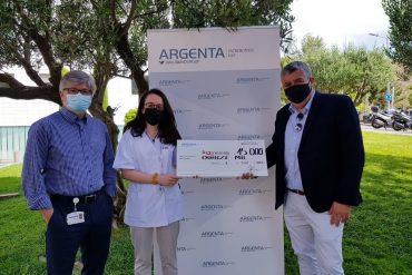 Donación Argenta Hospital Sant Joan de Déu