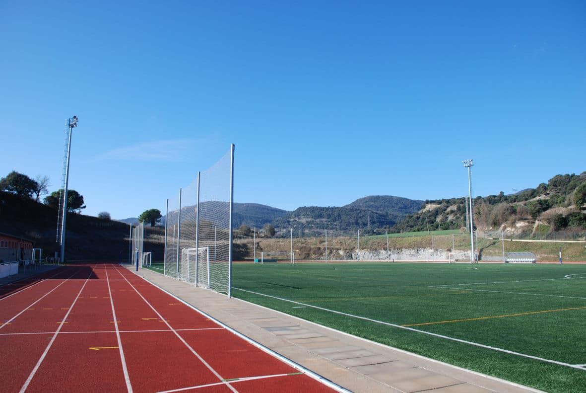 Espacios deportivos Tona Diputación Barcelona