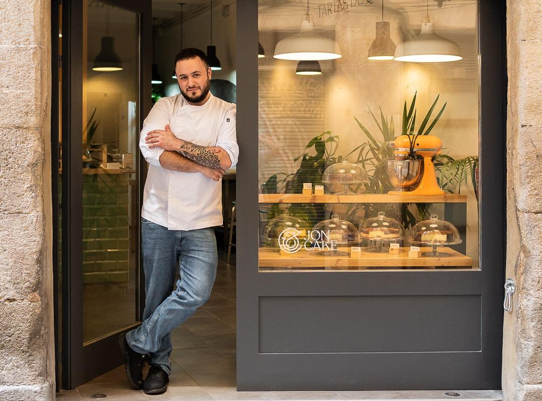 El pastelero Jon García, creador de Jon Cake. ©Alex Froloff.