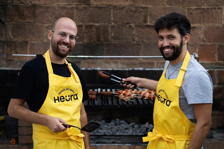 Marc Coloma y Bernat Añaños, fundadores de Heura, empresa que formará parte de Forward Fooding