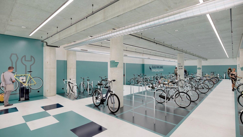 Pàrquing bicicletes World Trade Center