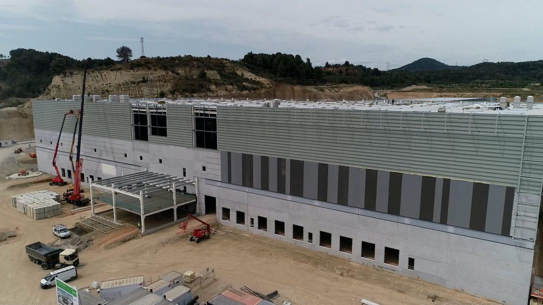 Obres centre logístic Molins