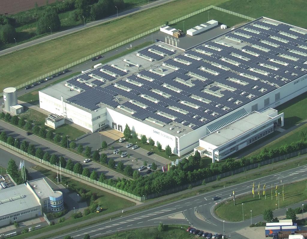 Fábrica de Sanit en Eisenberg.