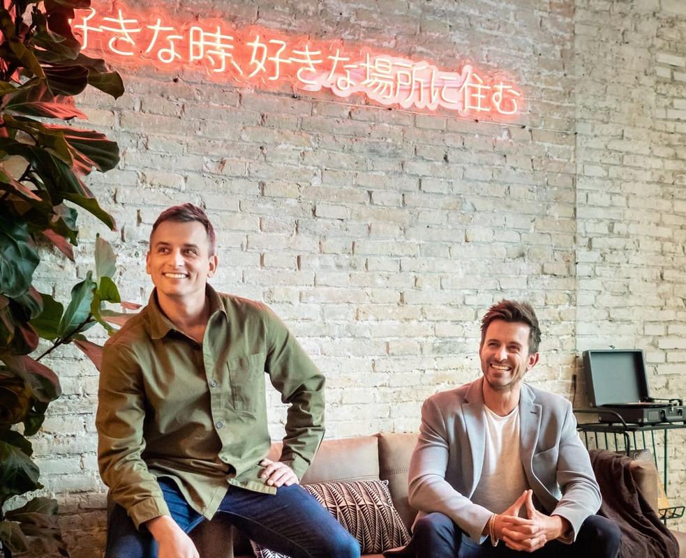 Jeremy y Stanley Fourteau, socios fundadores de Ukio.