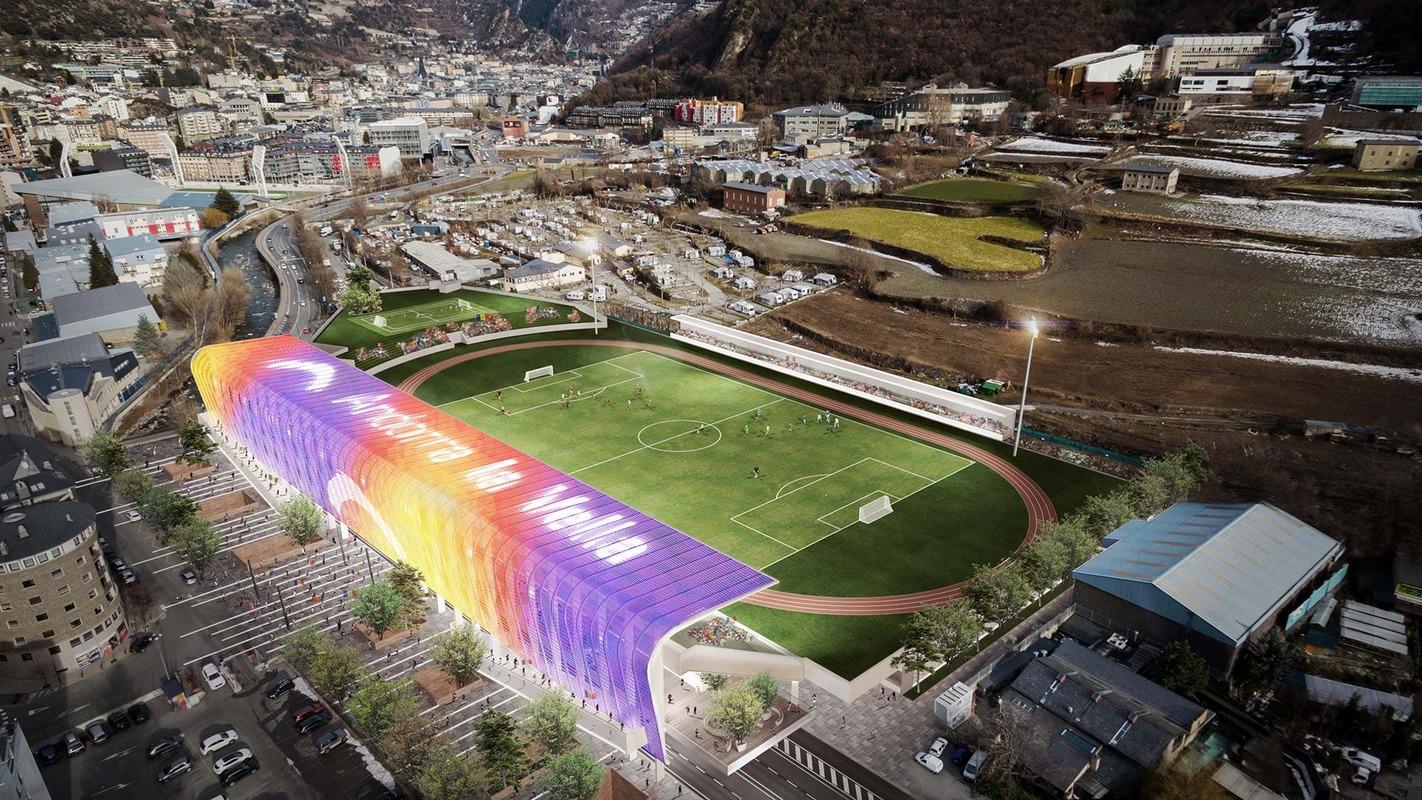 Estadio Comunal Joan Samarra Vila Andorra