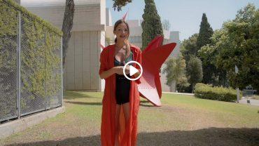 Alexander Calder stabile escultura Fundació Joan Miró Barcelona