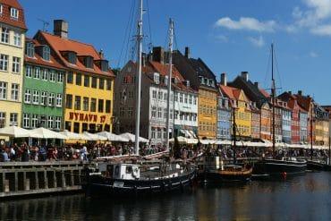 El icónico canal de Nyhavn, en Copenhagen.