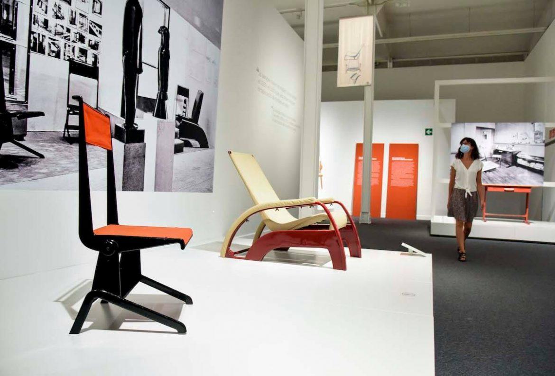Exposición Jean Prouvé CaixaForum