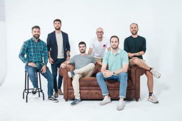 Los miembros fundadores de Levels Up Ventures.