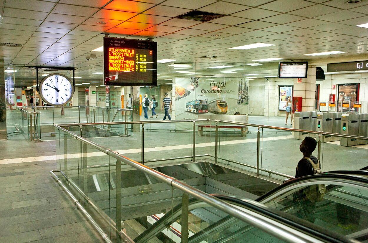 Estació Plaça Catalunya