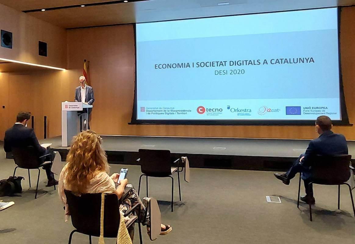 Presentació del DESI Catalunya 2020