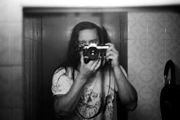 Autoretrato del fotógrafo barcelonés Sergi Escribano