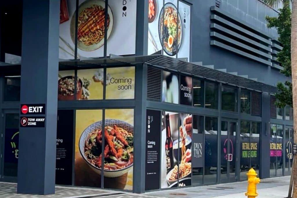 La cadena UDON tiene ahora 67 restaurantes.