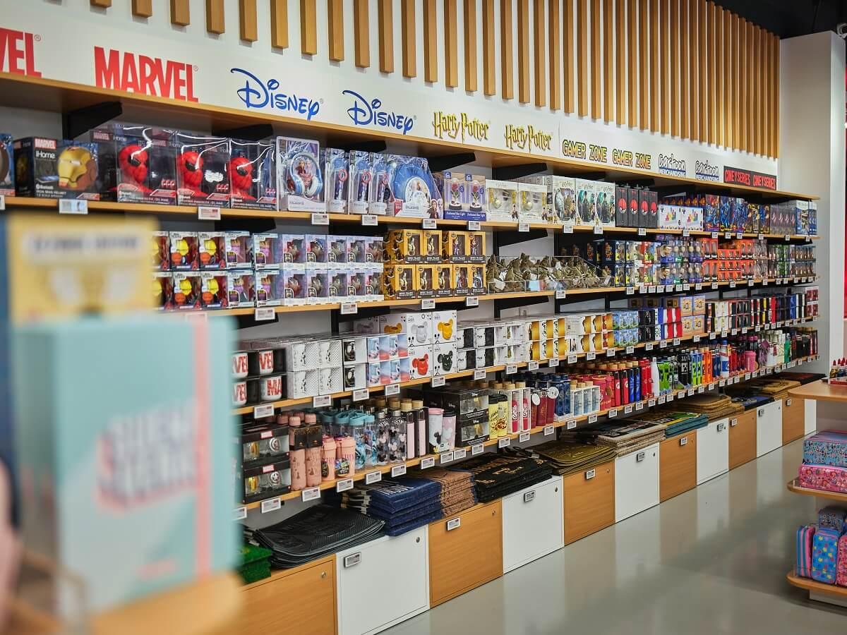 Zona de productes friquis a la nova botiga d'AliExpress.