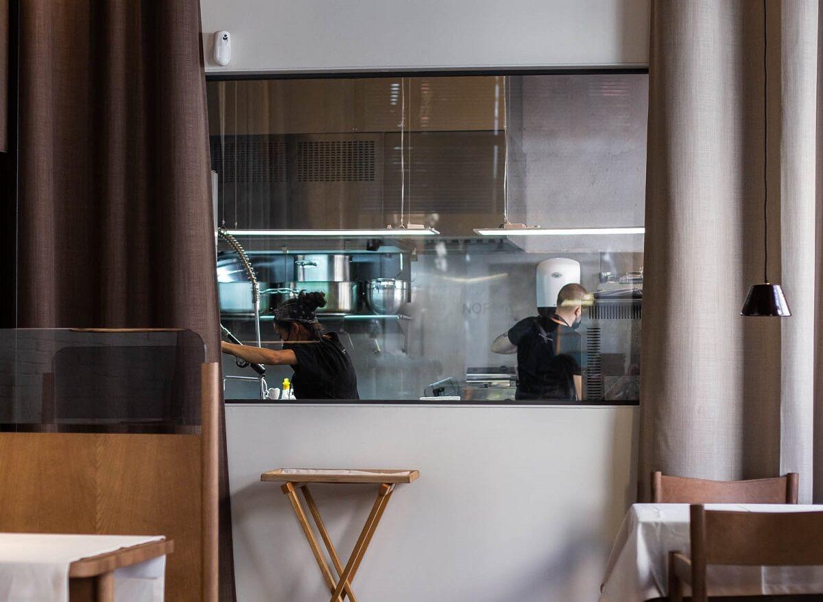 Cocina restaurante Normal