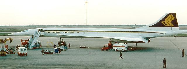 Concorde visita Barcelona 1979