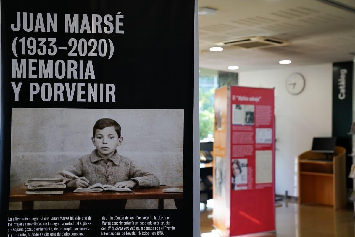 Exposición Juan Marsé