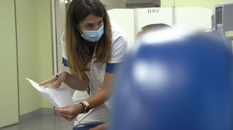 Infermera vacuna Hipra Covid