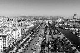 Vista aérea Barcelona