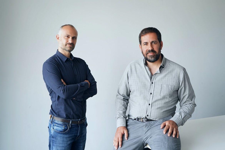 Los fundadores de WeTribu, Gonzalo Míguez y Tomás Andreu.